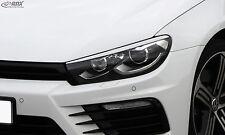 RDX Scheinwerferblenden VW Scirocco 3 2014+ Böser Blick ABS Blenden Spoiler