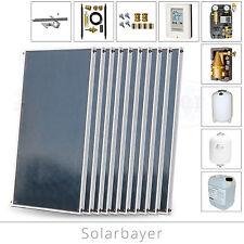 Solarbayer Solartechnik Solarsystem 20,20m² Solar Anlage Warmwasser und Heizung