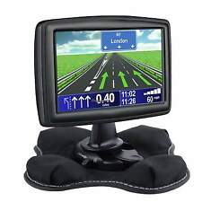 Black Portable Friction Dash Mount For Garmin Nuvi GPS Bean Bag For Vehicle