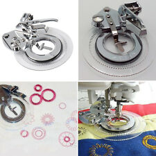 Multifunctional Flower Stitch Circles Embroidery Presser Foot for Sewing Machine