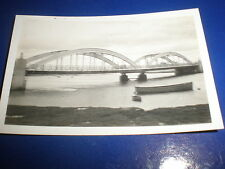 Old amateur photograph Foryd Bridge over the Clwyd at Rhyl 1934 Ref 5abc8