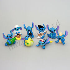 "New 8pcs Lilo & Stitch Small Toy Collection Figure 2"" ""Elvis"" Figures Wholesale"