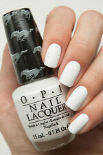 OPI Mustang ~ANGEL WITH A LEADFOOT~ Creamy White French Nail Polish Lacquer F73