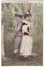 CPA -69-  Charme - couple - Amour courtois - On se boude.