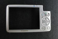 CANON IXUS 130 REAR BACK COVER UNIT BRAND NEW SILVER MADE BY CANON NEW