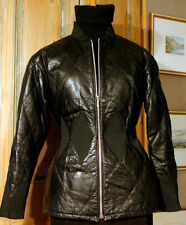Vintage Jean Paul Gaultier 2 pieces Leather Suit
