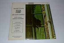 XVII Century German Masters~Baroque / Everest Records S-2832~FAST SHIPPING
