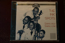 Rare Ink Spots Swing High Swing Low Past Perfect 20 Trks MINT Sealed New CD 1st