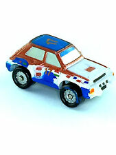 Micro Machines Vehicle Car Renault 5 Turbo Hatch Back Automobile Red White #15