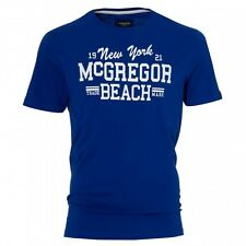 McGregor Cody Diving T-Shirt Blue Mens Size XXL 2XL box7480 L