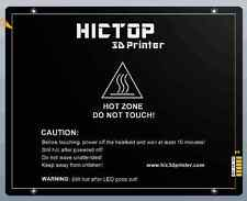 HICTOP Aluminum Heated Bed for Laptop 3D printer Ramps 220 *275 *3 mm 12V 200W