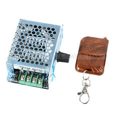 DC9V-50V PWM DC Motor Adjust Speed Controller+Wireless Remote Control Switch 20A