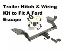 Class II Trailer Hitch & Wiring Kit  for Ford Escape 2013-2016