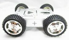 4WD Car Aluminum Mobile Robot Platform Educational Car Chassis Robot  F17341