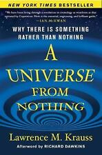 A Universe from Nothing : Why There Is Something Rather Than Nothing by Lawrenc…