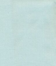 Zweigart 28ct Brittney Lugana Fabric Ice Blue Fat Quarter - 49 x 69cm