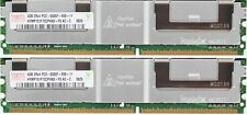 HP 8GB (2X4GB) di memoria DDR2-667 PC2-5300F ECC Fully Buffered CL5 240-Pin memoria (RAM)
