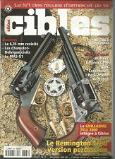 CIBLES N°363 6.35MM REVISITE / LES CHAMELOT-DELVIGNE CIVILS / MAS G1 / REMINGTON