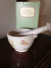 "AYNSLEY ""EDWARDIAN KITCHEN GARDEN"" PESTLE & MORTAR"