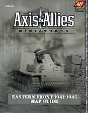 Axis and Allies Minatures Eastern Front 1941-1945 Map Guide SEALED