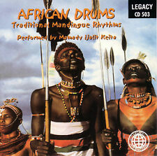 AFRICAN DRUMS - Traditional Mandingue Rhythms (Mamady Ijalit Ketia) CD [B7]