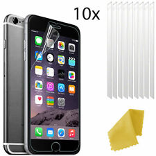 10 X Clear Plastic Screen Guard LCD Protector Film Layer For Apple iPhone 6s