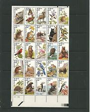 USA 1987 Capex American Wildlife complete sheet SG2256-2305 mnh, Cat.£70