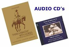 Think Harmony with Horses by Ray Hunt & True Unity by Tom Dorrance - Audio CD's