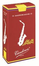 VANDOREN JAVA RED ALTO SAXOPHONE REEDS 2.5  10/box