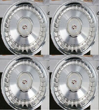 "GM CADILLAC 1986-1993 FLEETWOOD BROUGHAM 15"" WHEEL COVER (SET OF 4) OEM# 1638306"