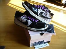 Nike Dunk Low Sb Patent  Purple Avengers with polo shirt space rare tiff cement