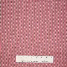 Calico Fabric - Marabella Pink Triangle Stripe - Free Spirit YARD