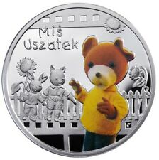 Niue 2010 1$ Cartoon Characters Teddy Floppy Ears Proof Silver Coin