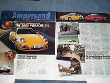 2005 Porsche 911 Carrera S First Drive & Tech Analysis Info Article