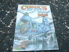 OCT 2011 COMICS REVUE vintage magazine (UNREAD - NO LABEL ) BUZ SAWYER
