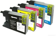 BROTHER SET OF 4 INKS B/C/M/Y LC1240 LC-1240DCP  J525N J925W J525W J525DW J925DW
