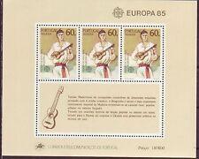 Portugal-Madeira postfrisch  Europa 1985   MiNr,  Block 6