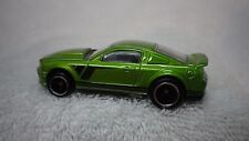 Hot Wheels Green 2007 Ford Mustang GT Custom Real Riders