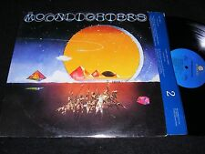 THE MOONLIGHTERS 1977 Country Rock Rarity Lp AMHERST Records Issue PAINTED COVER