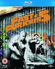 Fast And Furious Five - Rio Heist (Blu-ray, 2013) Brand new and sealed