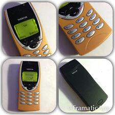 CELLULARE NOKIA 8210 GSM VINTAGE ARANCIONE DEBLOQUE UNLOCKED SIM FREE