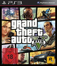 SONY PS3 Grand Theft Auto V PlayStation 3 GTA 5 V deutsch USk18