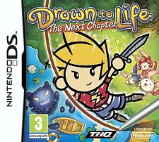 Drawn To Life: The Next Chapter Ninendo Nintendo NDS DS Lite DSi XL Brand New