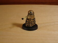 Doctor Dr Who Gold Dalek, Head Rotates, Metal Miniature, Painted, Fasa RPG
