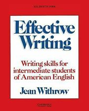 Effective Writing: Writing Skills for Intermediate Students of American English
