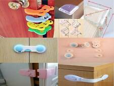 12 PC baby safety latch corner guard door stopper combo starter pack CHILD KID