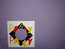 Elvis Costello  ‎– Party Party  - Copertina Forata Per Disco Vinile 45 Giri 7""