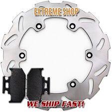 Yamaha Rear Brake Rotor +Pads YZ 125 250 (90-97) TT-R250 (99-06) WR250Z (91-97)