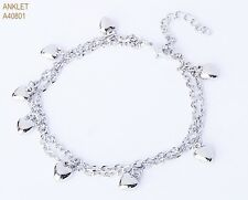 Latest Fashion Silver Finish Anklet - Pattern 2