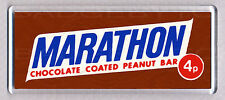MARATHON BAR large FRIDGE MAGNET - CLASSIC 70's COOL